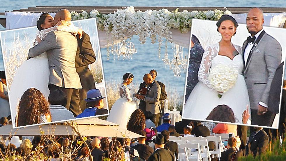 ne yo wedding crystal renay