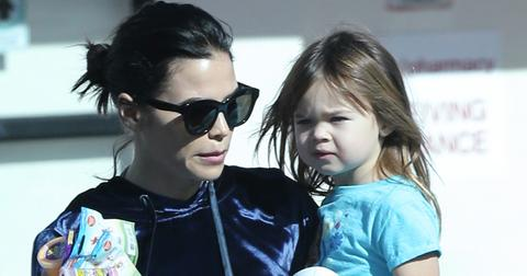 Exclusive… Channing Tatum, & Jenna Dewan & Their Daughter Everly Grab Some Lunch In Studio City