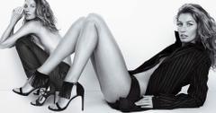Giselle bundchen topless stuart weitzman campaing 10