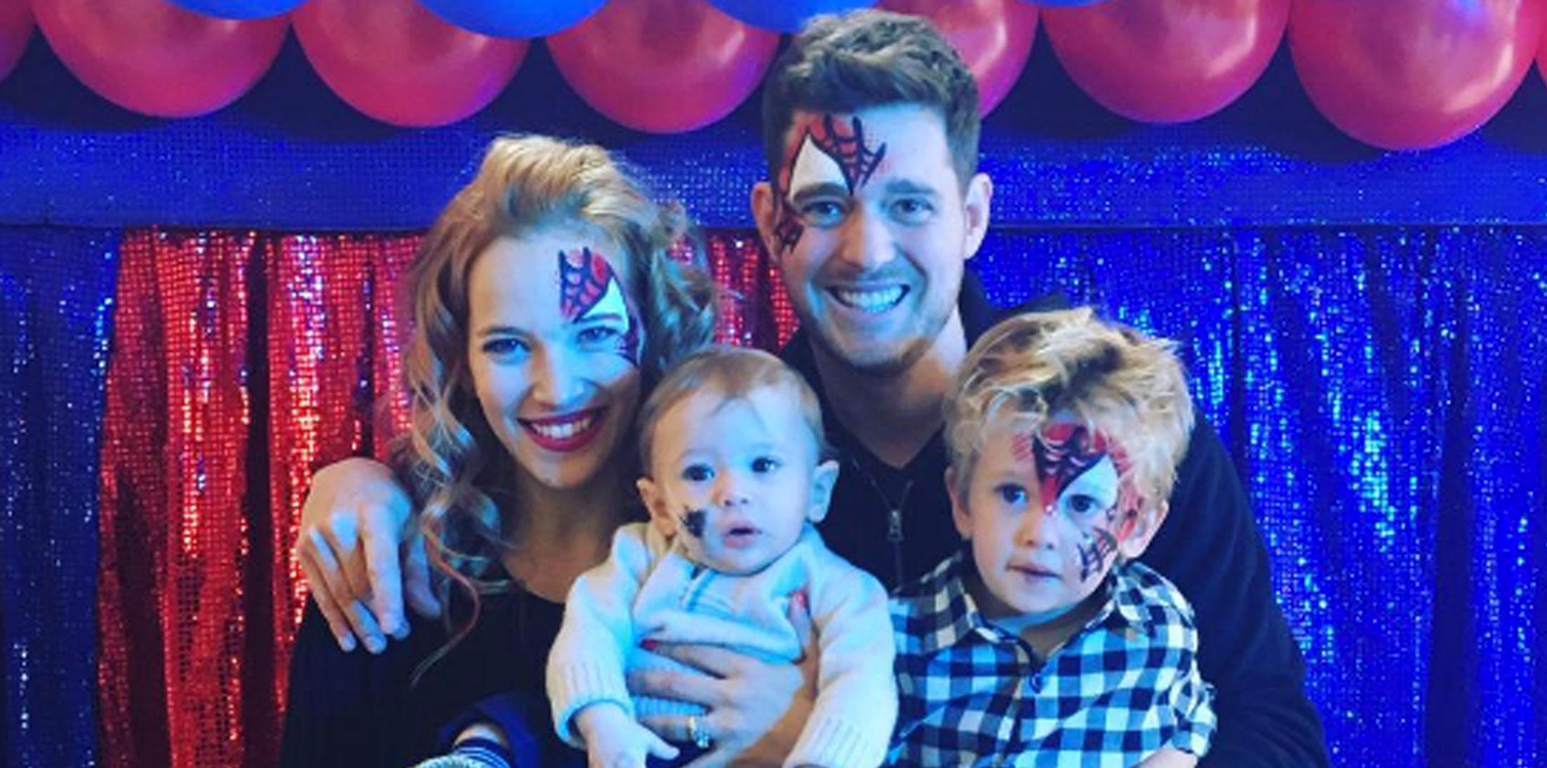 michael buble son birthday cancer battle long