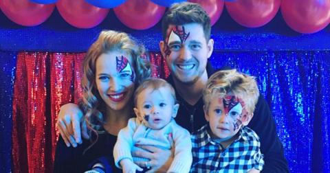 michael buble son birthday cancer battle long