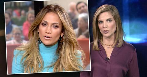 inset of Jennifer Lopez, Natalie Morales. Reelz Documentary JLo Brhind Closed Doors