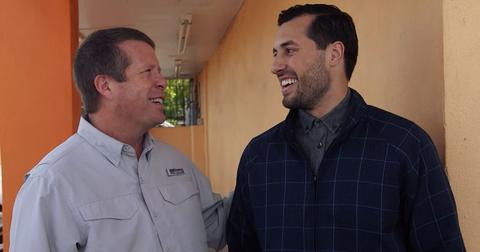 Counting on jim bob duggar jeremy vuolo awkwardly interact video pp