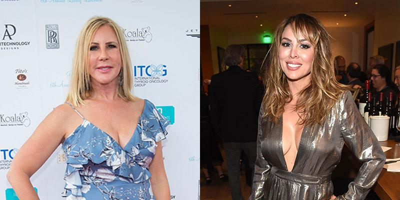 Vicki Gunvalson In Dress Red Carpet Kelly Dodd In Dress At Event Lawsuit