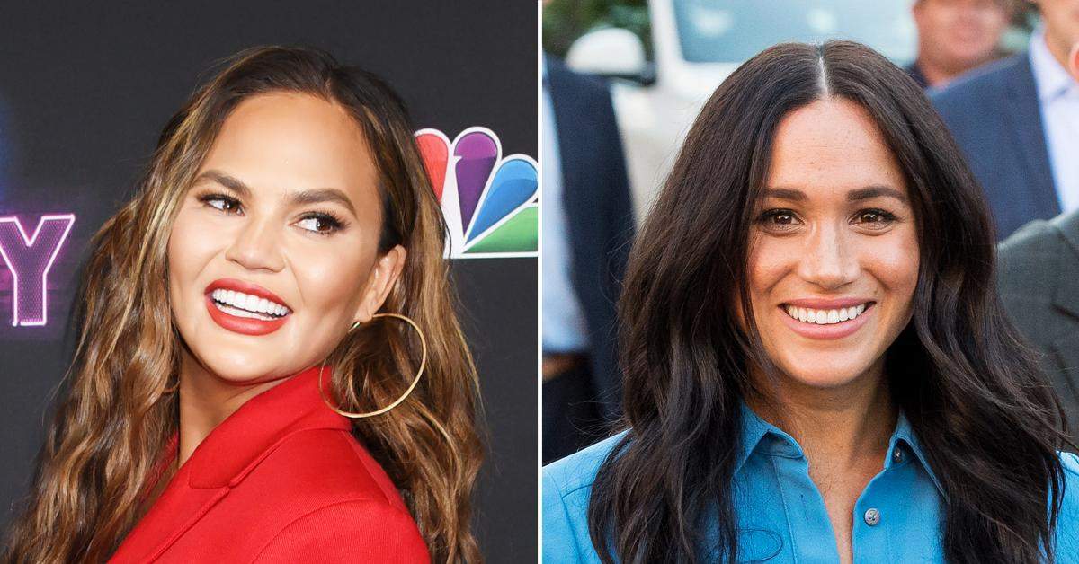 chrissy teigen reveals plans meghan markle besties global citizen concert