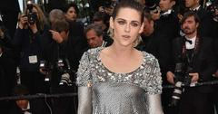 Kristen stewart takes off heels at cannes film festival to protest flat shoe ban