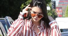 Kandall Jenner Has Lunch At Cuvee In WeHo