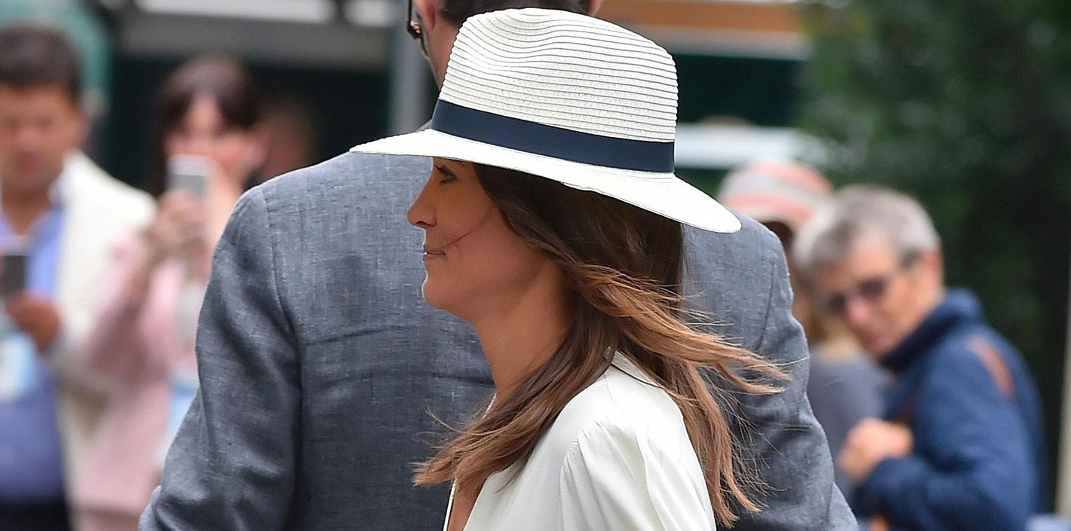 Pippa Middleton James Matthews Wimbledon Photos Long