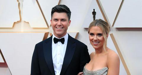 Colin Jost and Scarlett Johansson Send Out Save The Dates