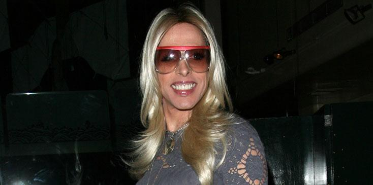 Alexis Arquette celebrates brother David Arquette's one year of sobriety at Mr Chow in Beverly Hills, CA