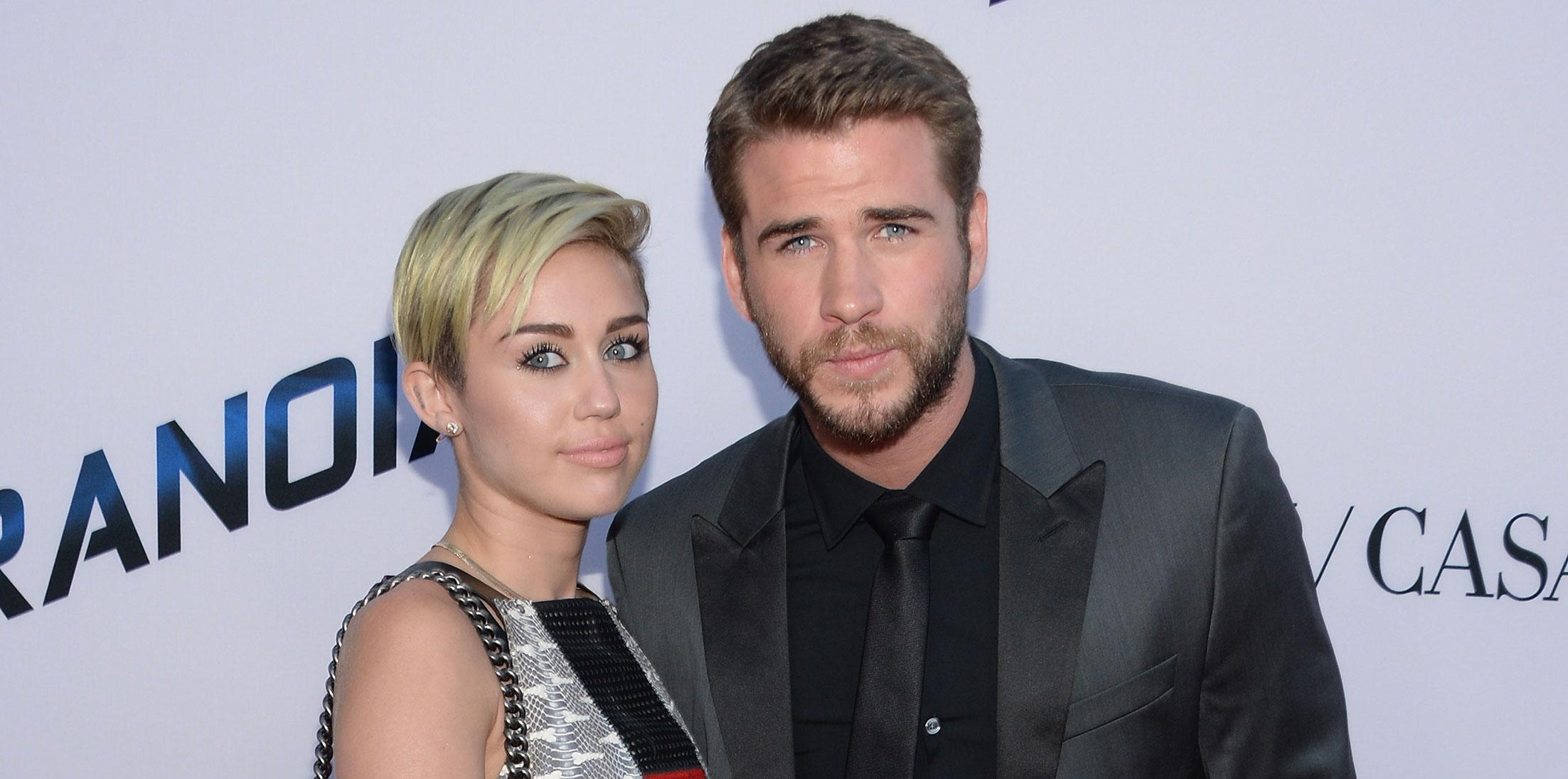 Miley cyrus won't marry liam hemsworth wide