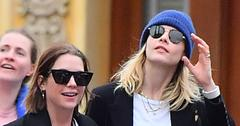 Cara Delevingne & Girlfriend Ashley Benson Travel To Disneyland Together