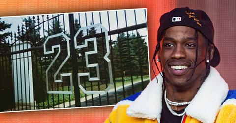 Michael Jordan Lends Mansion To Travis Scott For Rapper's New Video