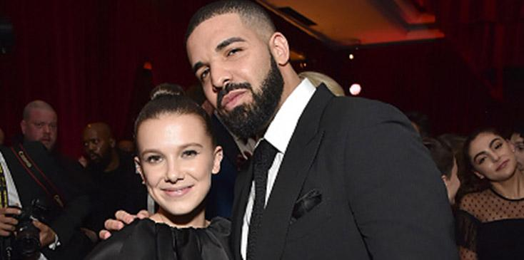 Millie bobby brown drake exchange miss you texts boy advice