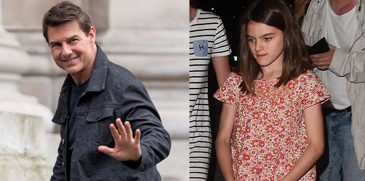 Tom cruise hasnt seen daughter suri in years
