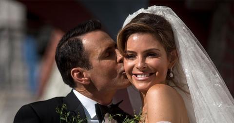 Maria Menounos greek wedding