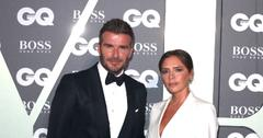 David Beckham and Victoria Beckham at GQ Men of the Year Awards in London, UK.