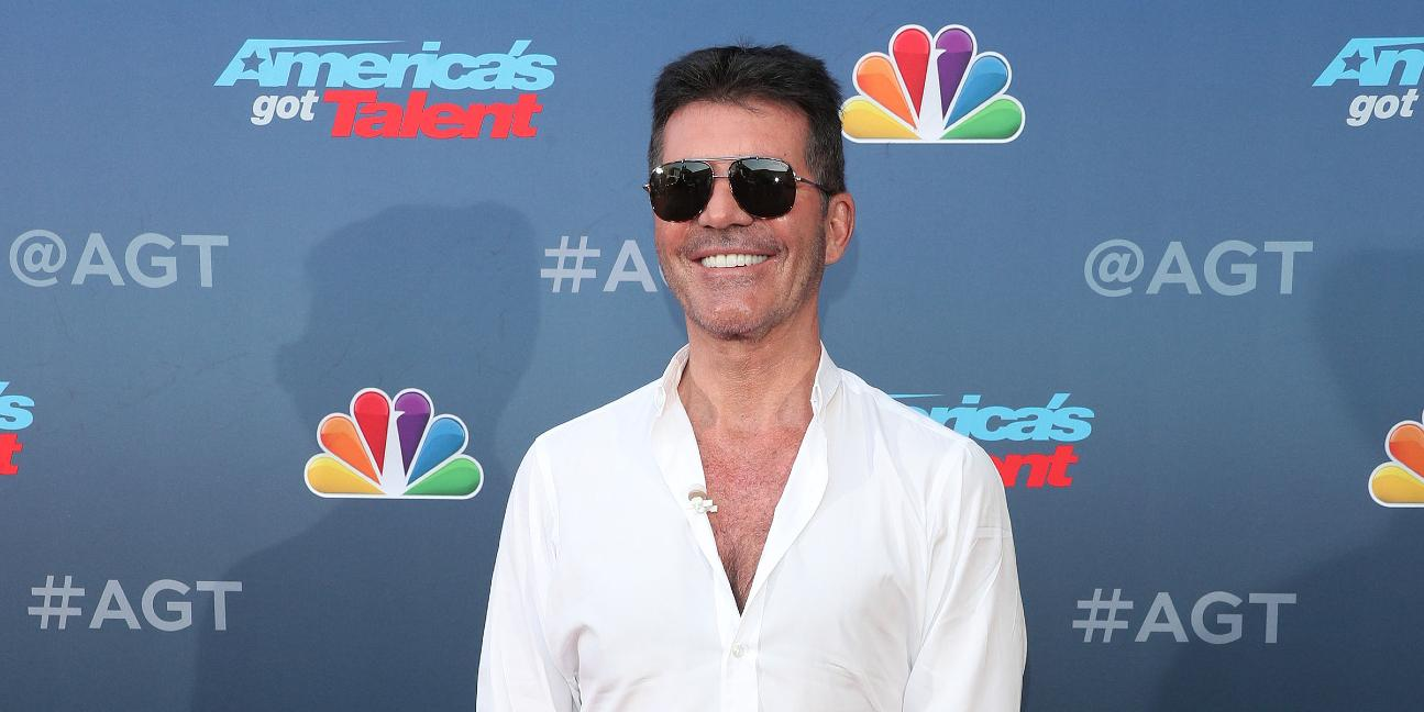 Simon Cowell at the 2020 Americas Got Talent Arrivals