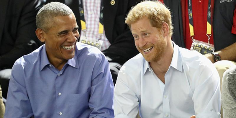 Barack obama prince harry interview