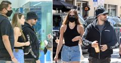 scott disick and amelia hamlin shop at jewelry store in miami