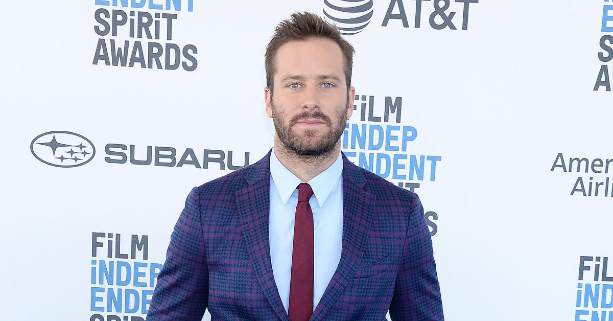Armie Hammer Exits Upcoming 'Godfather' Series 'The Offer' After His Alleged DMs Blew Up The Internet