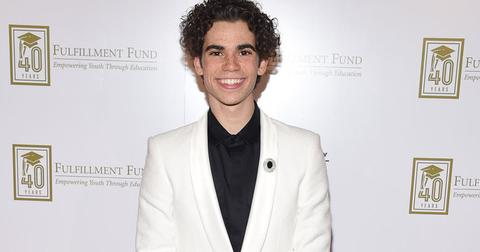 cameron boyce dead father