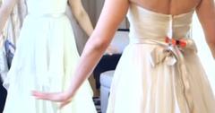 Lauren kitt carter wedding dress