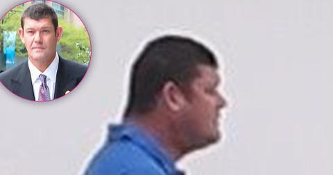 *PREMIUM EXCLUSIVE* James Packer shows off a fuller figure while yachting in Tahiti