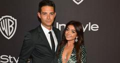 Sarah Hyland And Wells Adams At Event Engaged