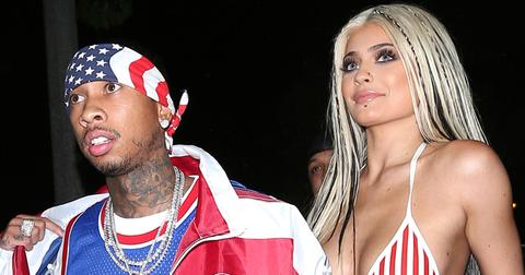 kylie jenner topless photo project with tyga