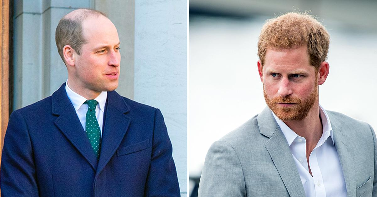 prince william prince harry chat plastered american tv lack of trust both side