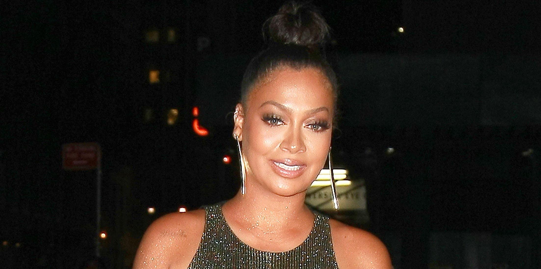 La La Anthony sparkles at the Revlon x Ciara Launch Event