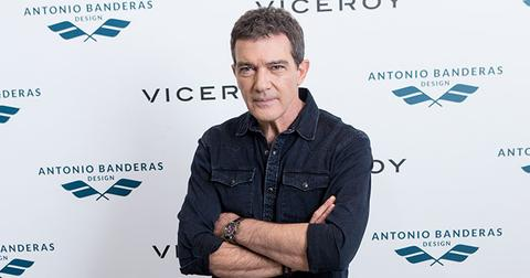 Antonio banderas hospitalized chest pain hr