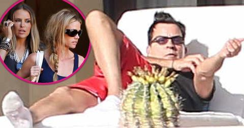 Charlie Sheen HIV Mexico Vacation