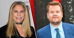Barbra Streisand James Corden