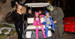 Mariah Carey's Festive Halloween Party at her Airbnb Estate