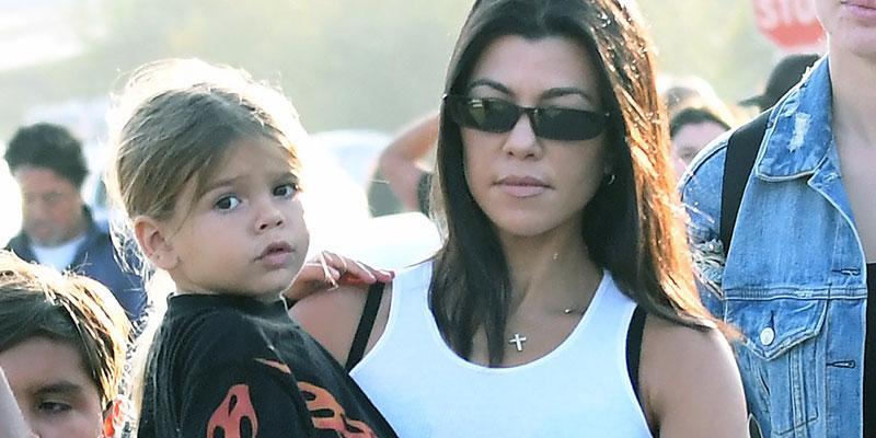 Kourtney Kardashian Lets Son Reign Pick Outfit