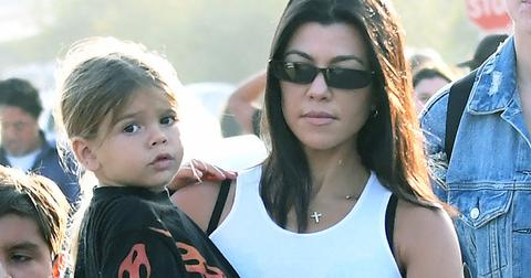 Kourtney Kardashian Lets Son Reign Pick Outfit