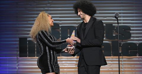 Beyonce colin kaepernick award