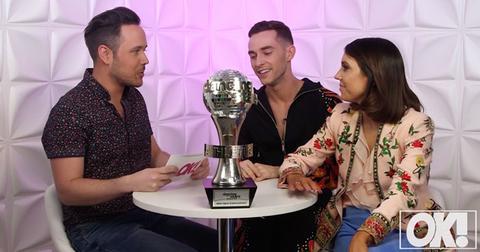 adam rippon jenna johnson reveal dancing with the stars secrets video pp
