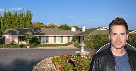 Rob Lowe buys home in Montecito