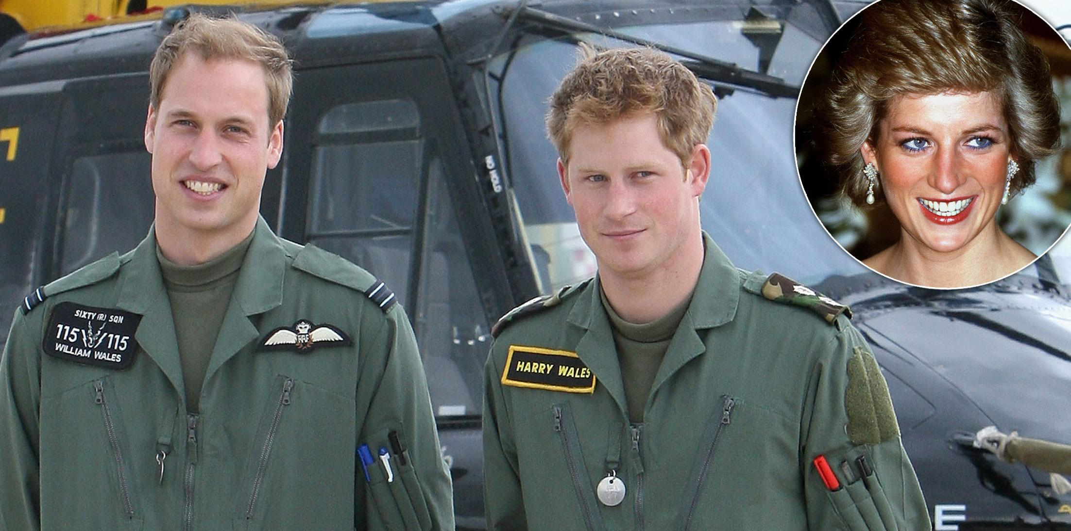 Princess Diana Sons William Harry Legacy Long