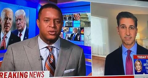 MSNBC Journalist Swears On Live TV During Interview With Craig Melvin