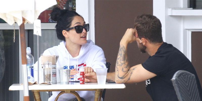 Nikki Bella And Artem Chigvintsev Breakfast Date