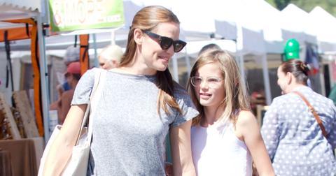 Jennifer Garner Daughter Violet Grown Up Pics Long