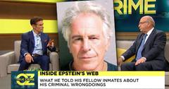 Dr Oz Show and Barry Levine discuss Jeffrey Epstein fellow inmates