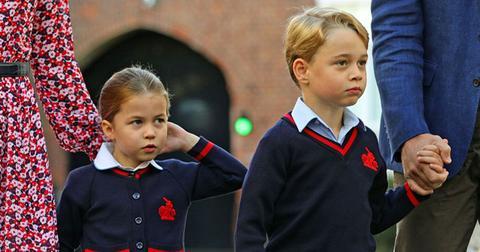 princess charlotte prince george coronavirus