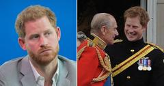prince harry statement grandfather prince philip pf