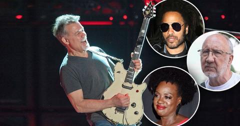 Celebrities React To The Death Of Eddie Van Halen