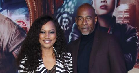 Garcelle Beauvais And Michael Elliot On Red Carpet